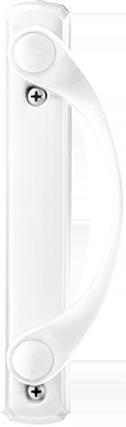 Sliding Patio Door Hardware in White