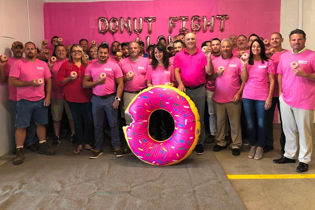 Renewal goes pink Breast Cancer awareness month
