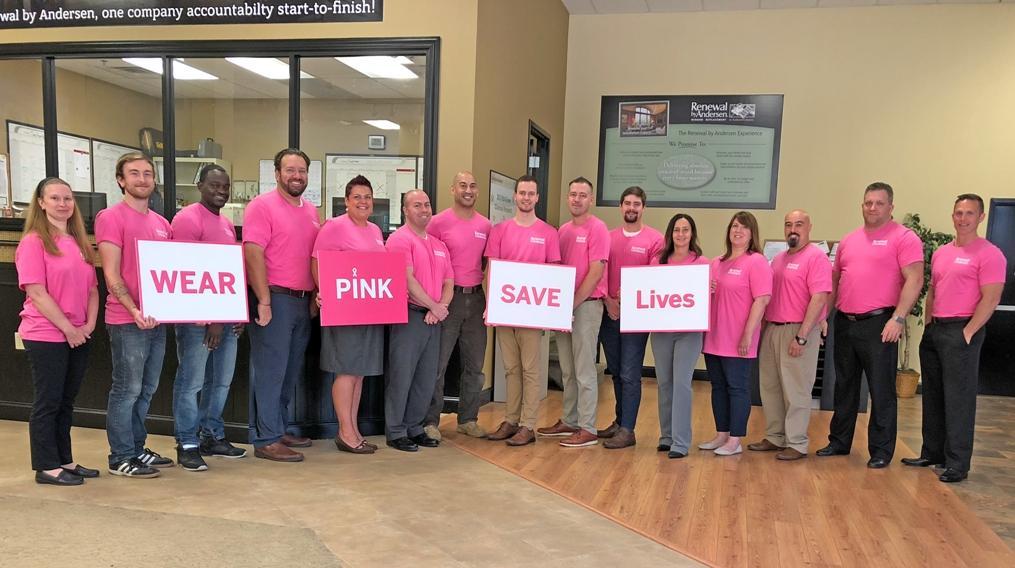 Wear Pink Save Lives