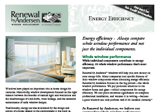 energy efficiency catalog