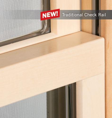 Renewal By Andersen Traditional Check Rail For Double