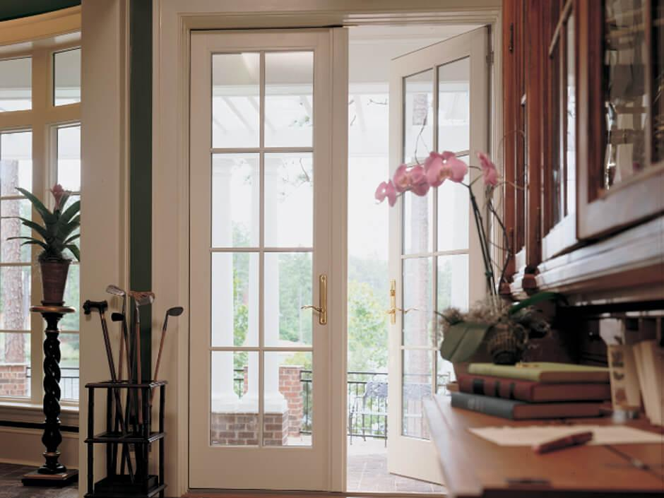 Patio doors should be more than just a path to the outdoors. Find elegant hinged French doors to grace a formal dining area. Discover contemporary sliding replacement doors to match your modern décor. Renewal by Andersen offers dozens of attractive options for replacement patio doors.