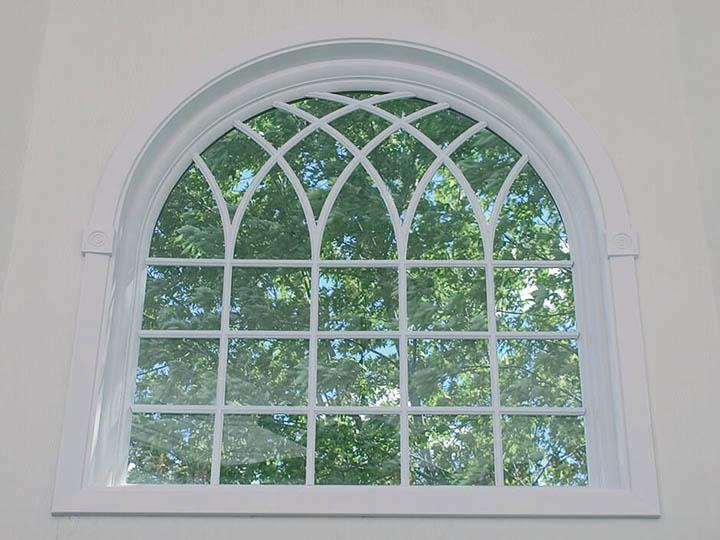 Specialty replacement windows provide a unique touch to individual rooms or throughout your home. Create interest with triangle, circle top and arched windows. Renewal by Andersen specialty replacement windows are custom made to your exact specifications.