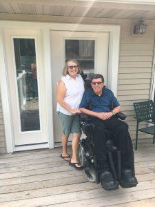 Disabled Veteran Door Donation